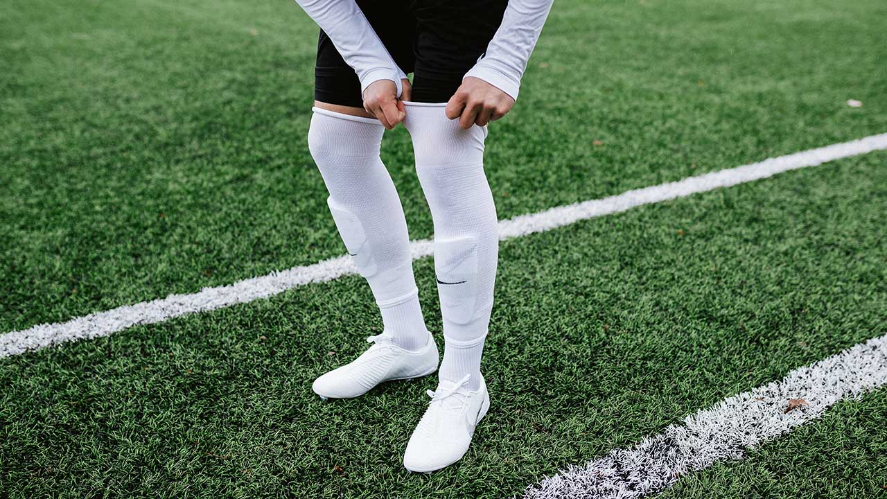 How to wear football socks as a pro?
