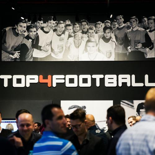 Slavnostní otevření nově zrekonstruované prodejny Top4Football