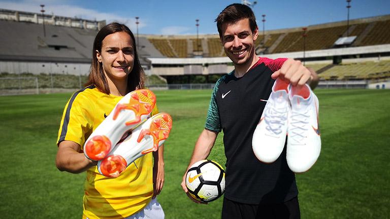 Nové kopačky Nike Mercurial a Lucka Martínková