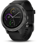 Reloj Garmin GARMIN vivoActive3 Optic Grey PVD, Black band