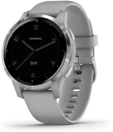 Reloj Garmin Garmin vívoactive4S Silver/Gray Band