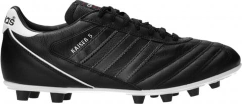 Kaiser 5 Liga FG Black Stripes Schwarz