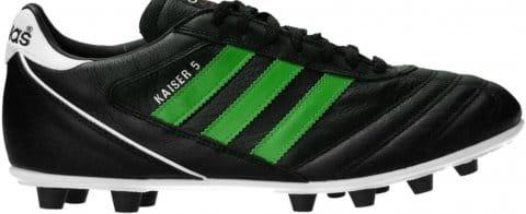 Kaiser 5 Liga FG Green Stripes Schwarz