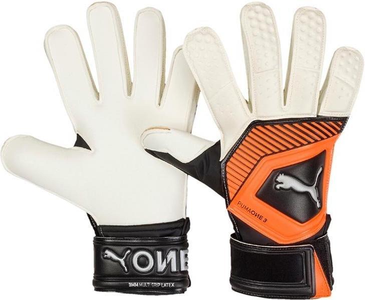 Brankářské rukavice Puma One Grip 3 RC 041475-001 Velikost 11