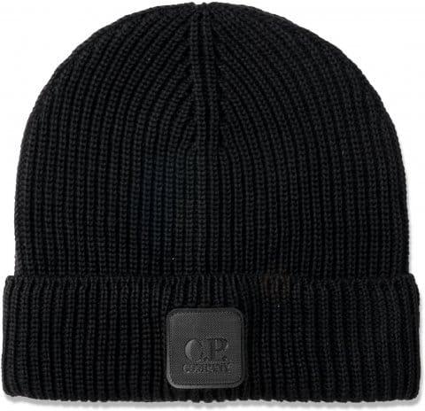 C.P. Company Knit Beanie Schwarz