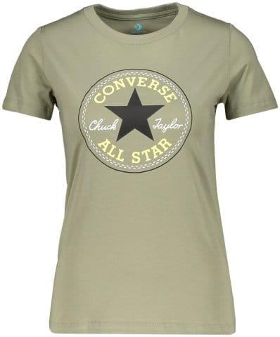 Converse Chuck Patch Nova T-Shirt Damen Grün F368