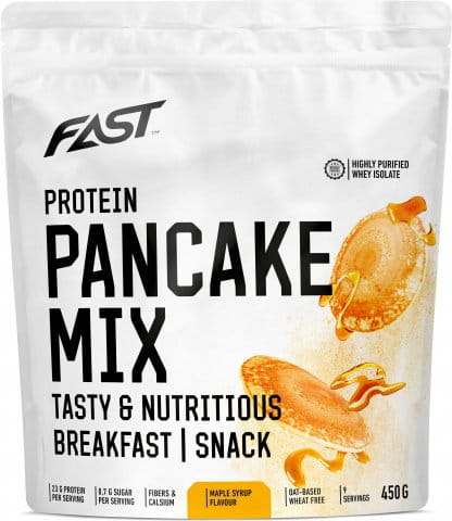 FAST PRO PANCAKE MIX 450G - maple syrup