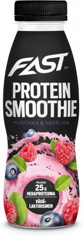 Natural Protein Smoothie blueberry-raspberry 330 ml