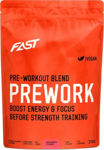 FAST PRE-WORKOUT 210G RED BERRIES