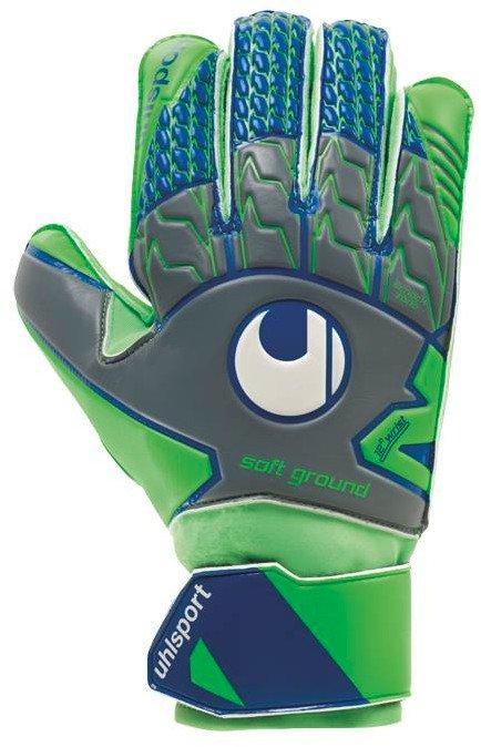 Brankářské rukavice Uhlsport TENSIONGREEN SOFT PRO 101106101 Velikost 11