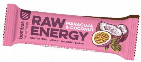 BOMBUS Raw energy - Maracuja 50g