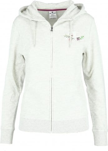 LADY FLOWER FULL ZIP HOODY