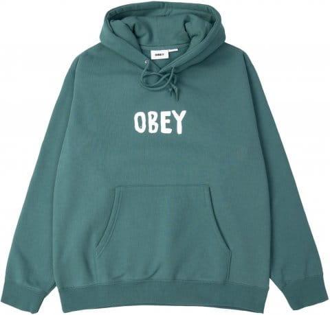 Obey Premium Box Fit Hoody Lila FVLP