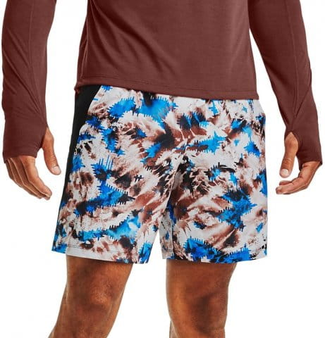 UA LAUNCH SW 7 PRINTED SHORT
