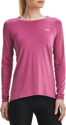 UA HG Armour Long Sleeve-PNK