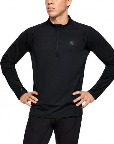 UA RUSH RUN COLDGEAR HALF ZIP