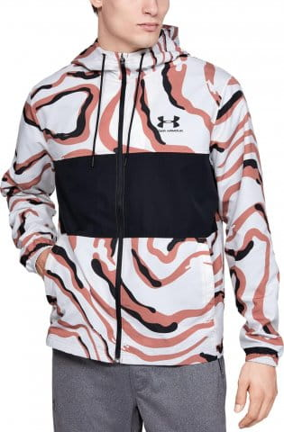 SPORTSTYLE WIND PRINTED HOODED JACKET