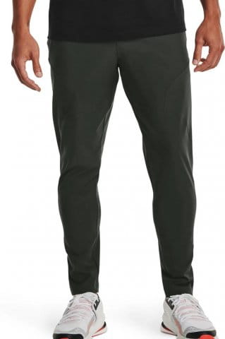 UA UNSTOPPABLE TAPERED PANTS-GRN