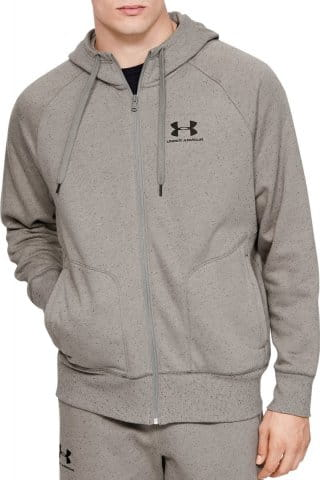 SPECKLED FLEECE FZ HOODIE