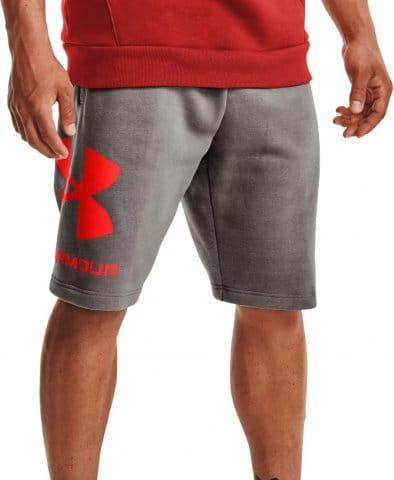 UA Rival FLC Big Logo Shorts-GRY