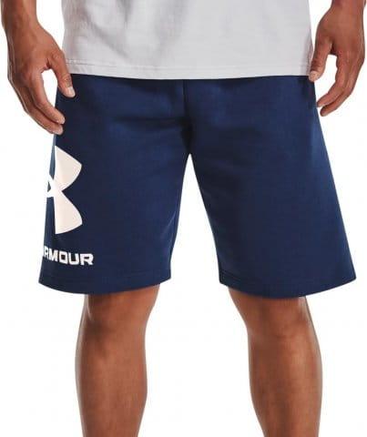 UA Rival FLC Big Logo Shorts-BLU
