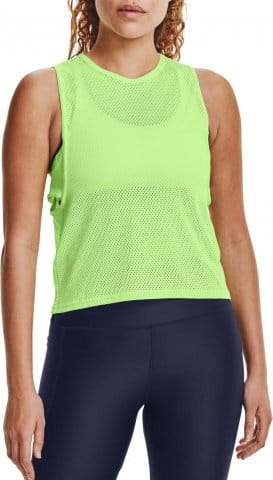 UA HG Armour Muscle Msh Tank-GRN
