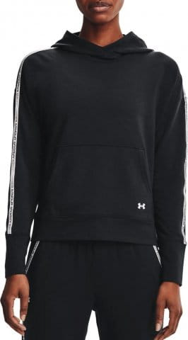 UA Rival Terry Taped Hoodie-BLK