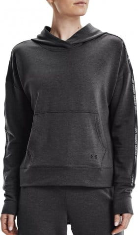 UA Rival Terry Taped Hoodie-GRY