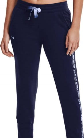 UA Rival Fleece Grdient Pant-NVY