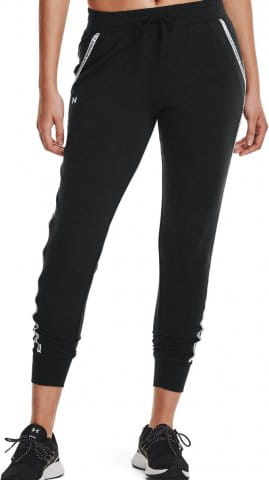 UA Rival Terry Taped Pant-BLK