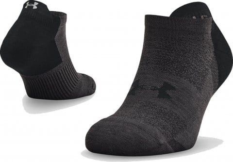 UA ArmourDry Run No Show-BLK