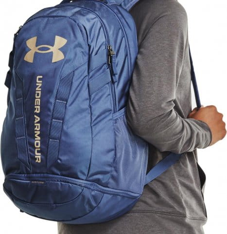 UA Hustle 5.0 Backpack-BLU