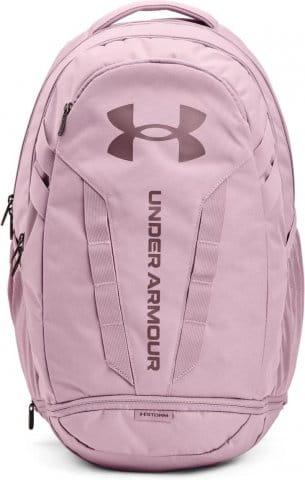 UA Hustle 5.0 Backpack-PNK
