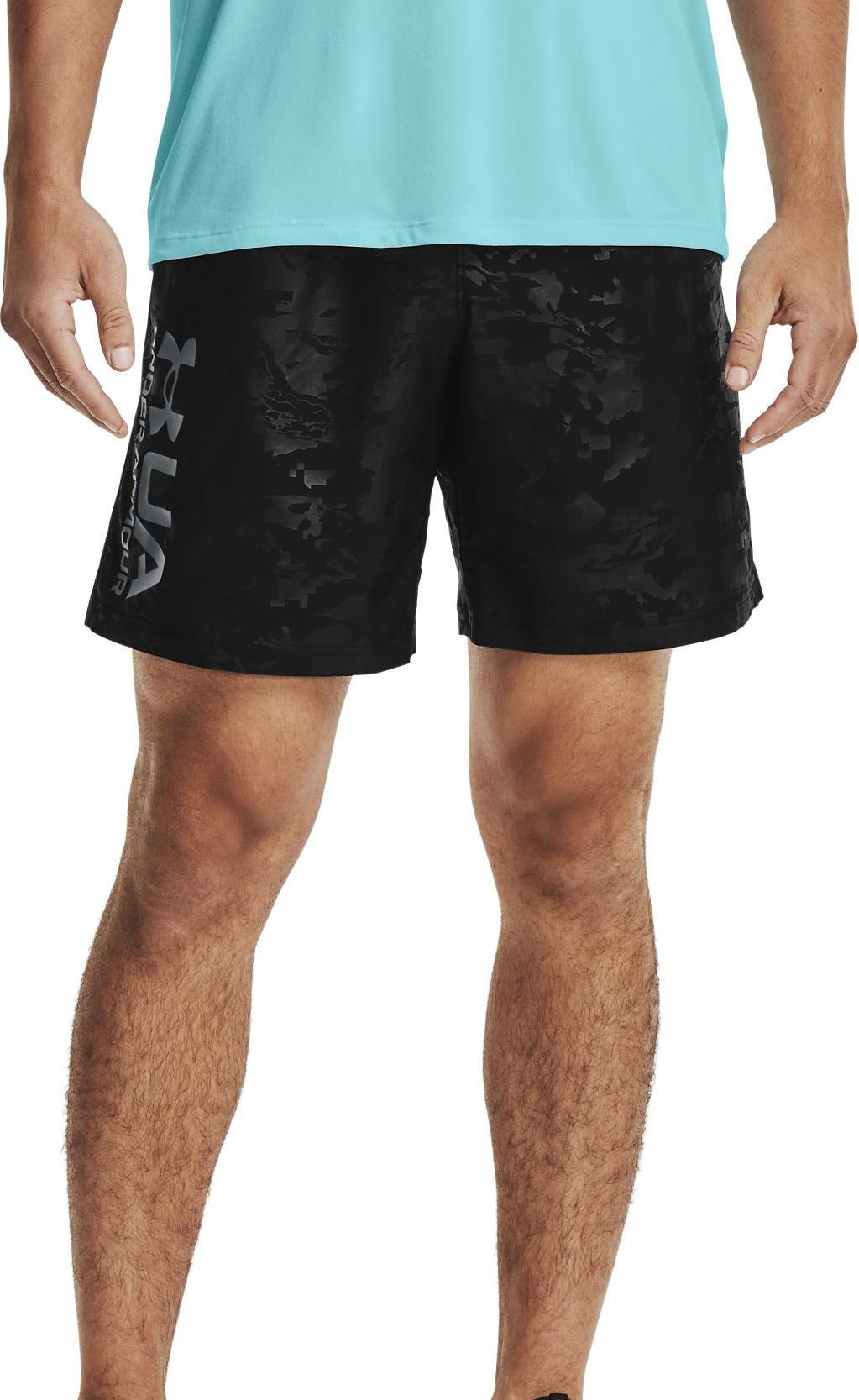 Šortky Under Armour UA Woven Emboss Shorts-BLK