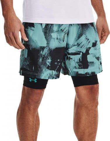 UA Woven Adapt Shorts-BLU
