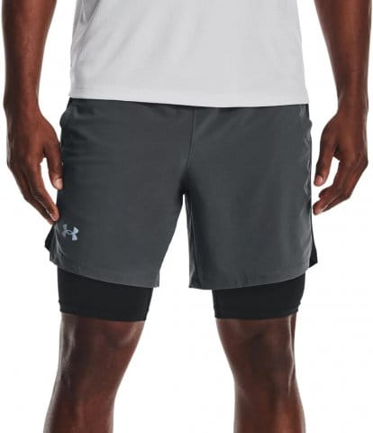UA Launch SW 7 2N1 Short-GRY