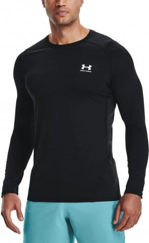 UA HG Armour Fitted LS-BLK