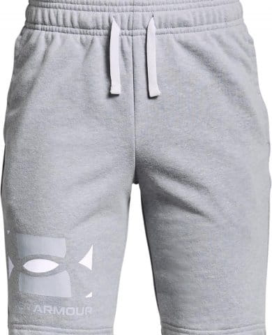 UA RIVAL TERRY BL SHORTS-GRY