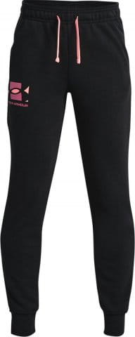 UA RIVAL TERRY PANTS-BLK