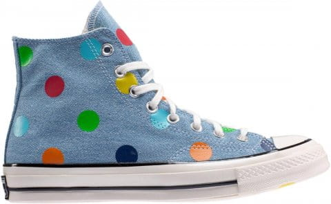 Converse X TTC GLF Polka Dot Blau