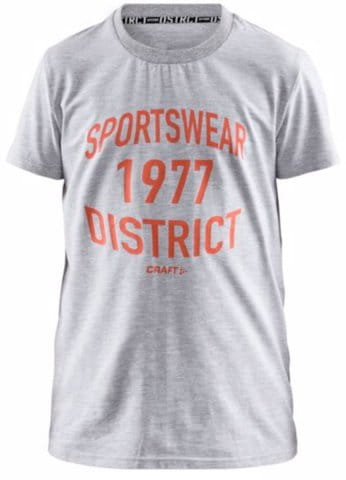 CRAFT District JR SS T-shirt