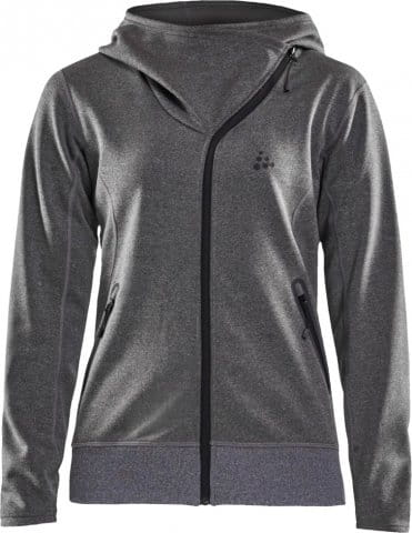 CRAFT Sports Fleece Asymetric Hoodie