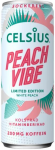 Celsius 355ML Peach Vibe Energy drink