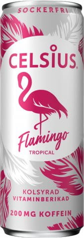 Celsius 355ml Flamingo Energy drink