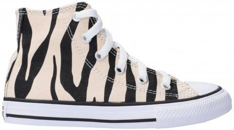 Converse Chuck Taylor All Star Zebra HI Kids F001