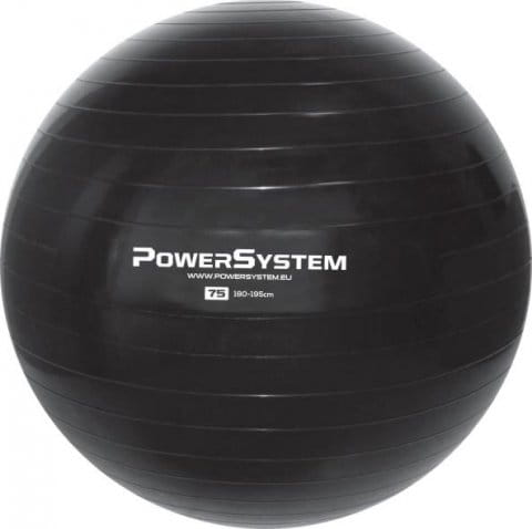 POWER SYSTEM-PRO GYMBALL 75CM-BLACK