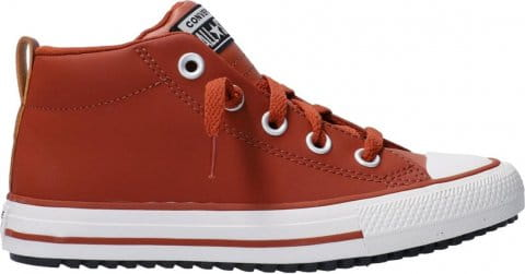 Converse CTAS Street Boot Kids Braun Rot F213
