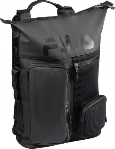 BACKPACK FROSTED PU-3D MESH