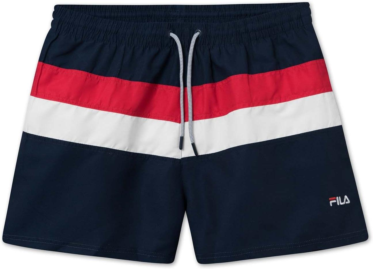 Šortky Fila MEN FILIPPO blocked swim shorts