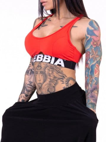 Nebbia Athletic Cut Out
